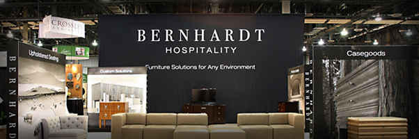 Bernhardt Hospitality Trade Show Exhibit